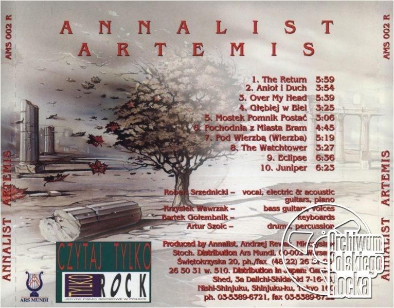 Annalist - Artemis