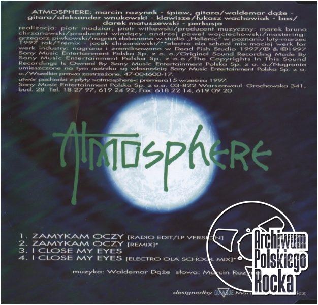 Atmosphere - Zamykam oczy
