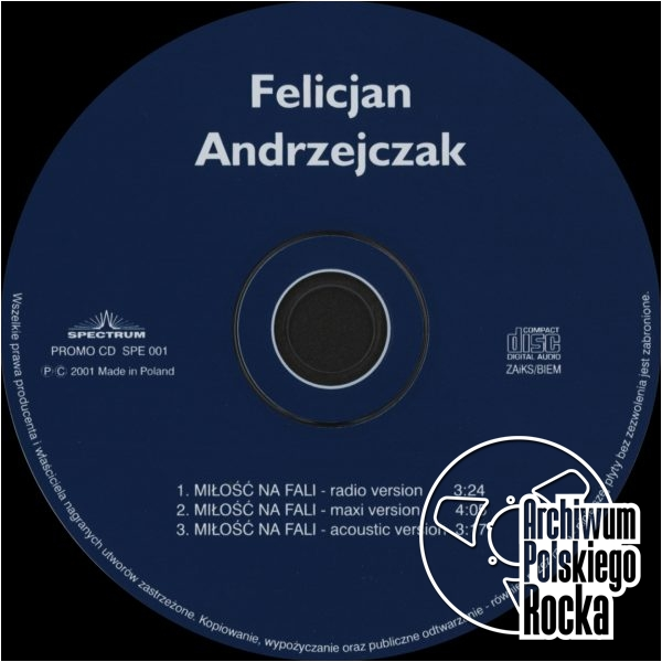 Felicjan Andrzejczak - Miłość na fali