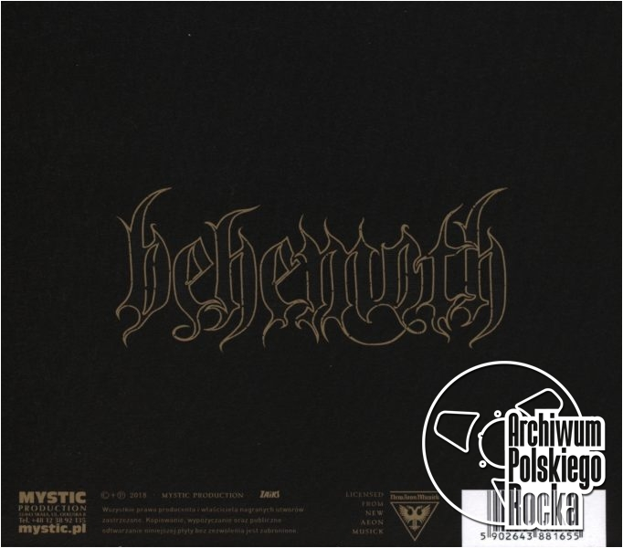 Behemoth - I Love You At Your Darkest