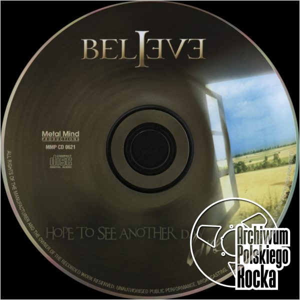 Believe - Hope To See Another Day Live