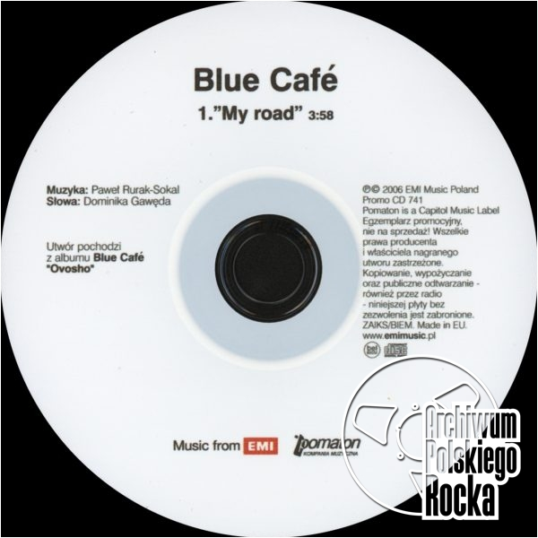Blue Cafe - My Road