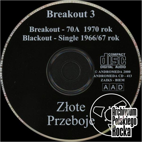 Breakout - Breakout III - 70a / Blackout - Single