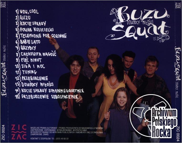 Buzu Squat - Dowody miłości