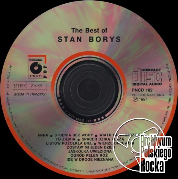 Borys, Stan - The Best Of