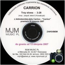 Carrion - Trzy słowa