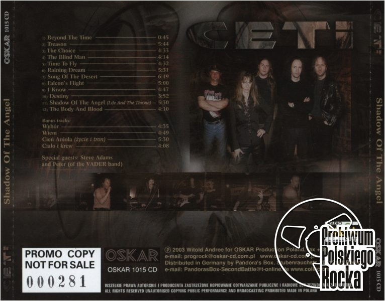 Ceti - Shadow Of The Angel