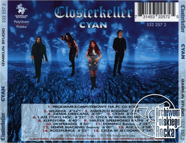 Closterkeller - Cyan