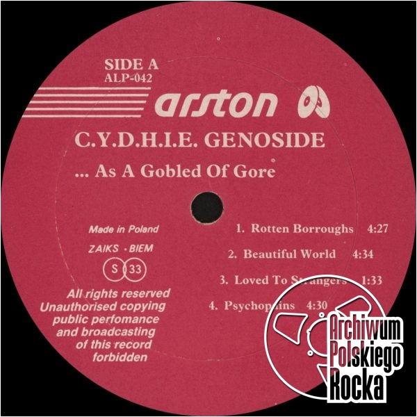 Cydhie Genoside - ...As a Gobled Of Gore