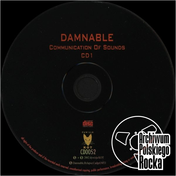 Damnable - Communication Of Sound