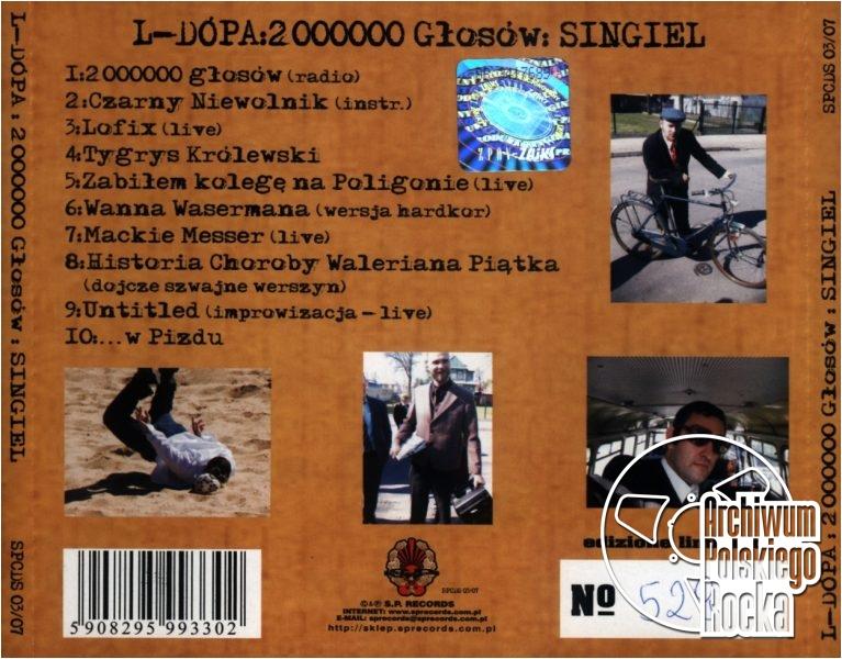 El Dupa - 2000000 Głosów: Singiel