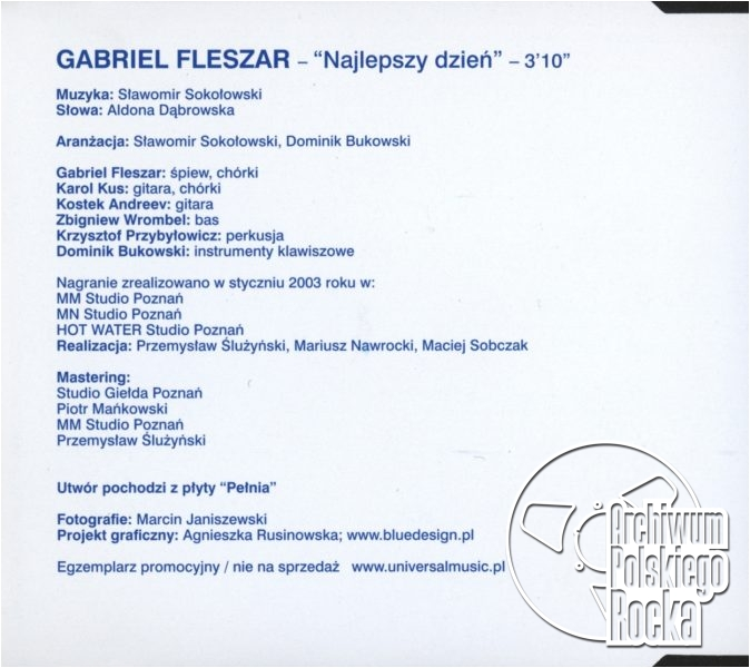 Gabriel Fleszar - Najlepszy dzień
