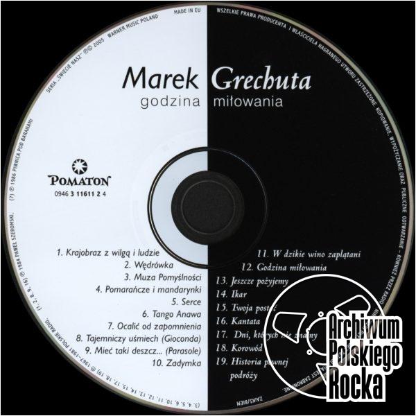 Marek Grechuta - Godzina miłowania