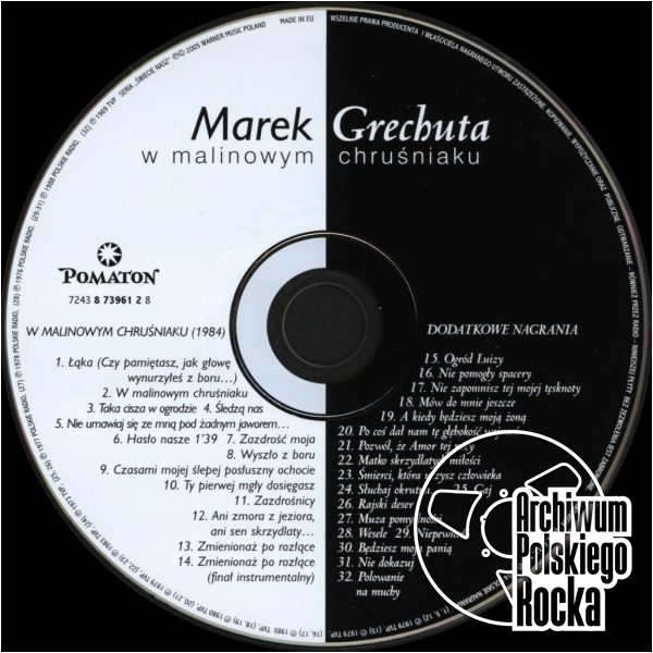 Marek Grechuta - W malinowym chruśniaku