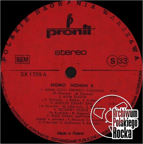 Homo Homini - Homo Homini (4)