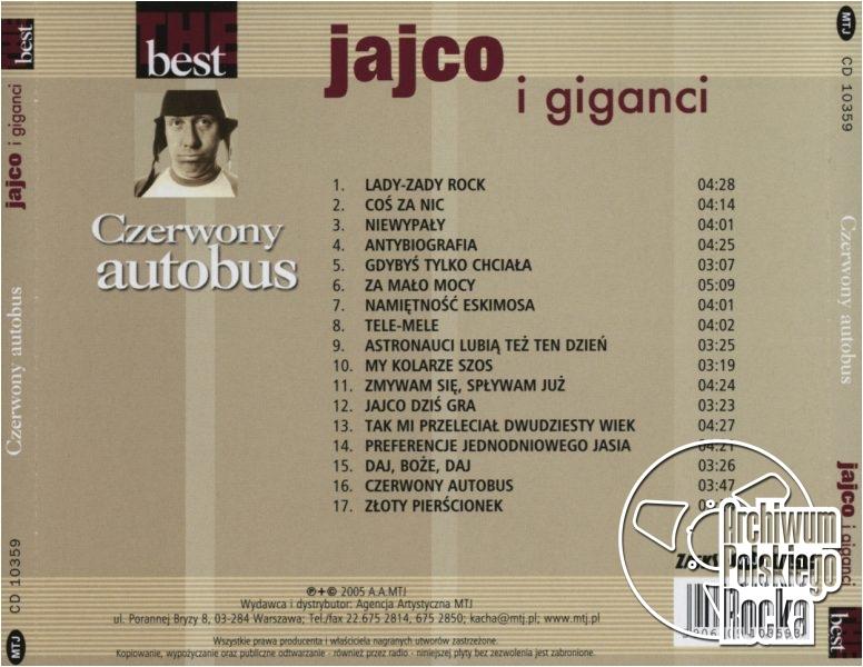 Jajco & Giganci - Czerwony autobus