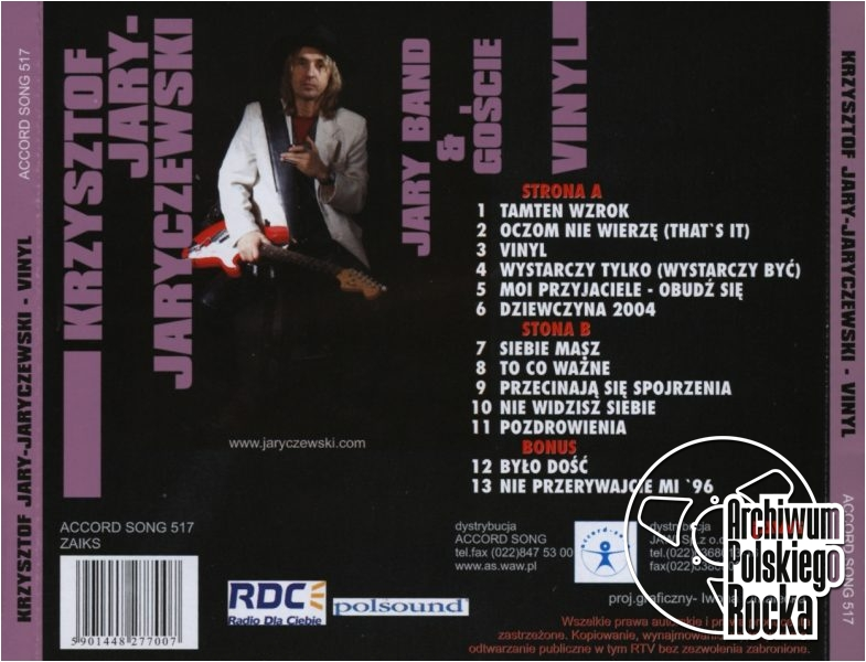 Krzysztof Jaryczewski - Vinyl