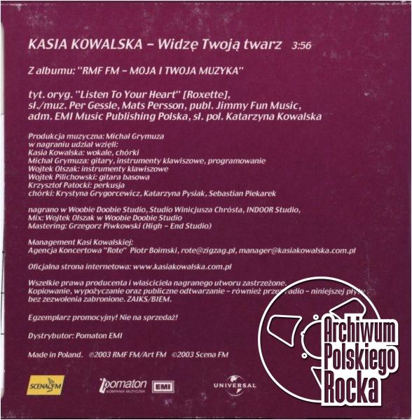 Kasia Kowalska - Widzę twoja twarz