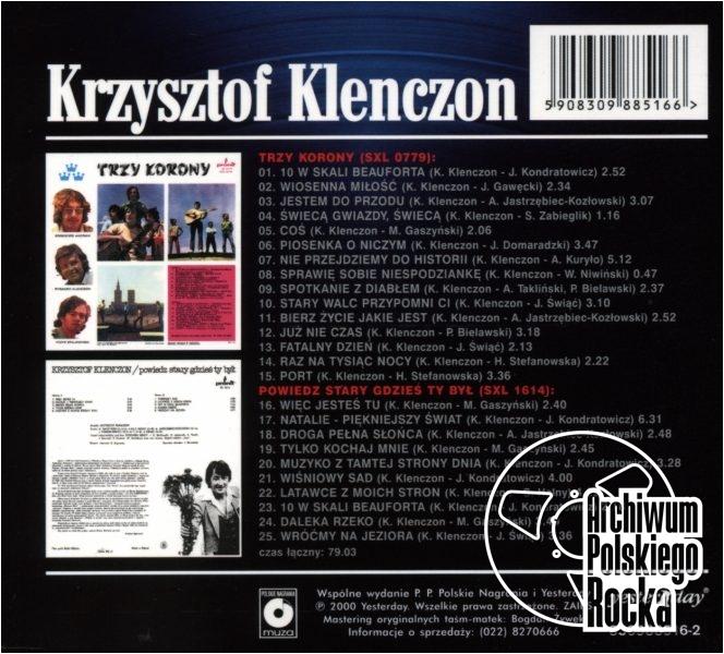 Krzysztof Klenczon - Trzy korony plus Powiedz stary gdzieś ty był