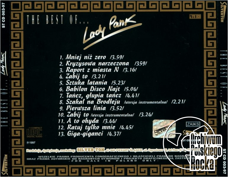 Lady Pank - The Best Of...