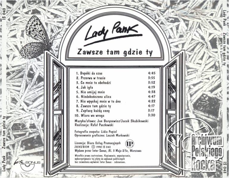 Lady Pank - Zawsze tam gdzie ty