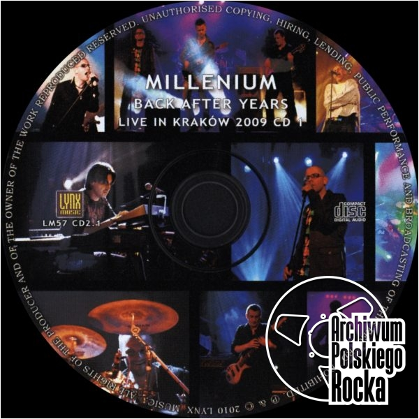 Millenium - Back After Years. Live In Krakow 2009