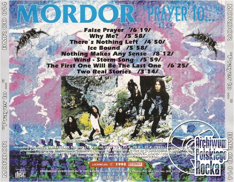 Mordor - Prayer to...