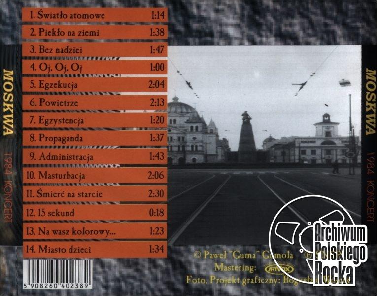 Moskwa - 1984 Koncert