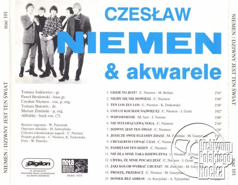 Niemen, Czesław - Dziwny jest ten świat