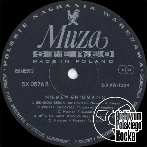 Niemen, Czesław - Enigmatic