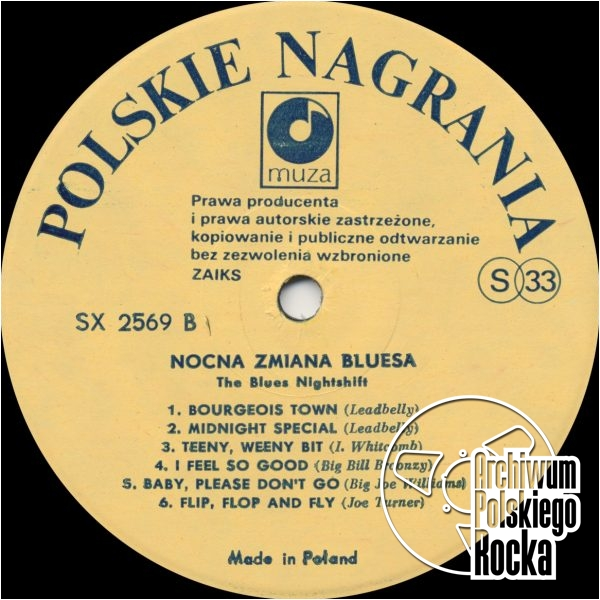 Nocna Zmiana Bluesa - The Blues Nightshift
