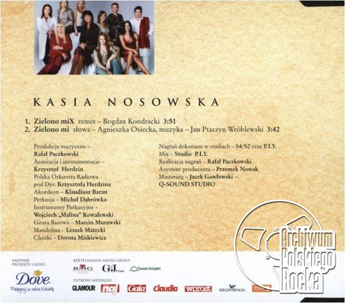 Nosowska - Zielono mix