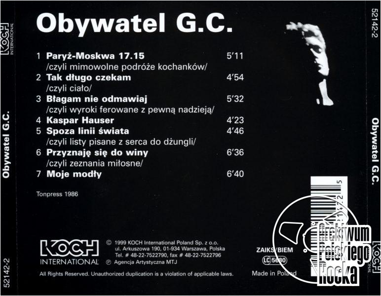 Obywatel GC - Obywatel G.C.