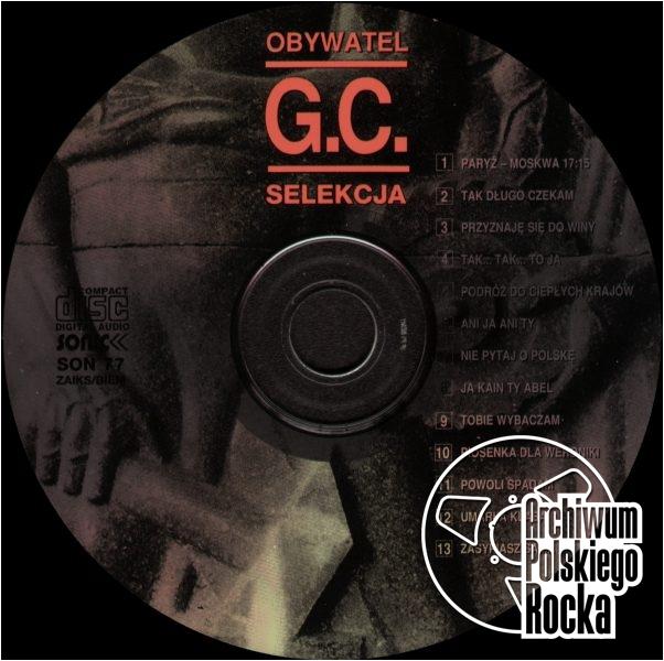 Obywatel GC - Selekcja