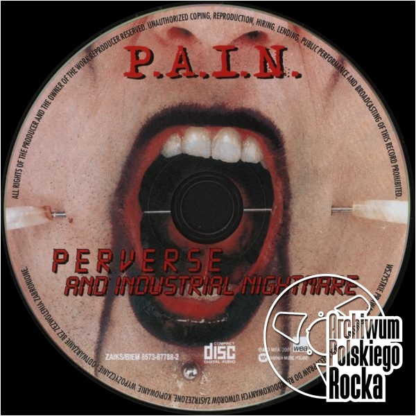 P.A.I.N. - Perverse And Industrial Nightmare
