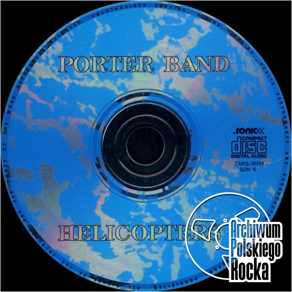 Porter Band - Helicopters