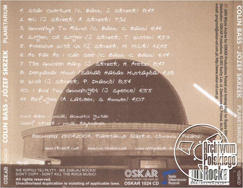 Skrzek, Józef - Planetarium