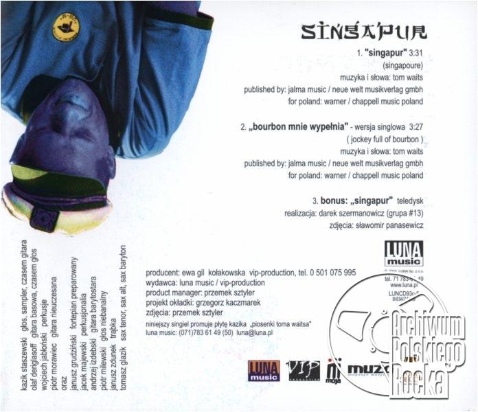 Kazik Staszewski - Singapur