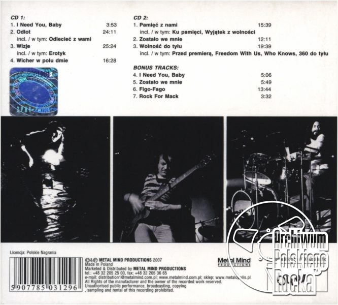 SBB - Complete Tapes 1974