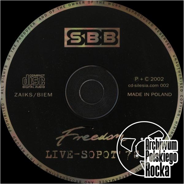 SBB - Freedom - Live From Sopot `78