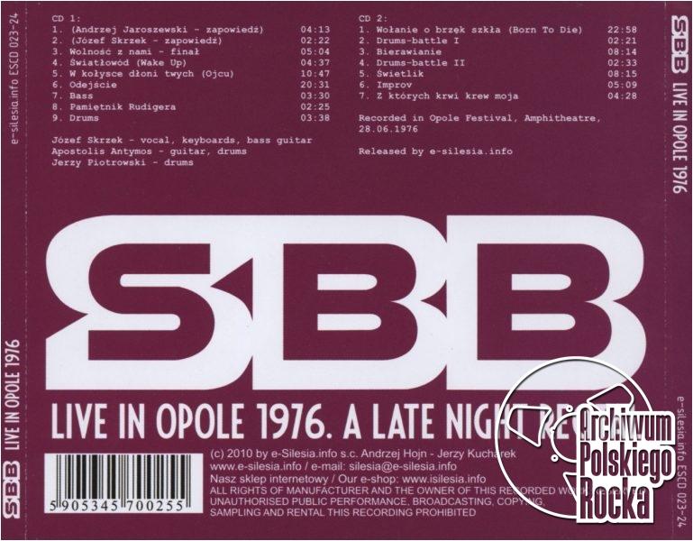 SBB - Live in Opole 1976