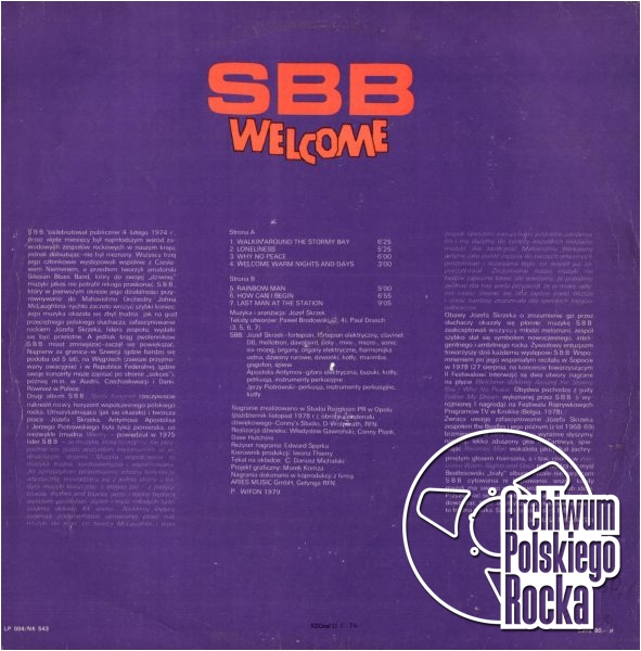 SBB - Welcome