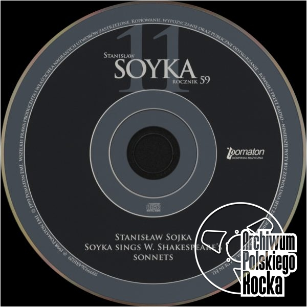 Stanisław Sojka - Soyka Sings W. Shakespeare`s Sonnets