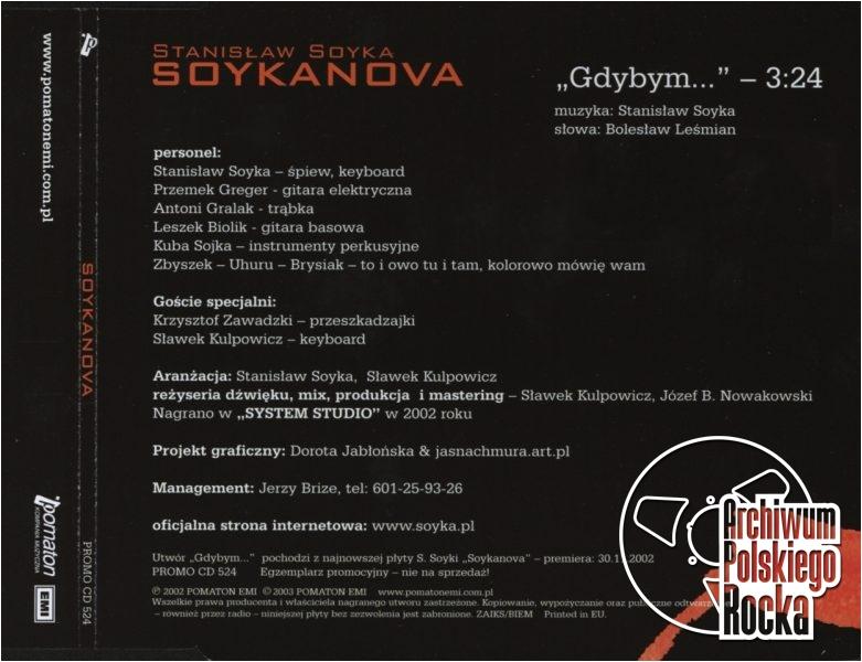 Stanisław Soyka - Gdybym...