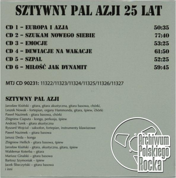 Sztywny Pal Azji - 1986 - 2011