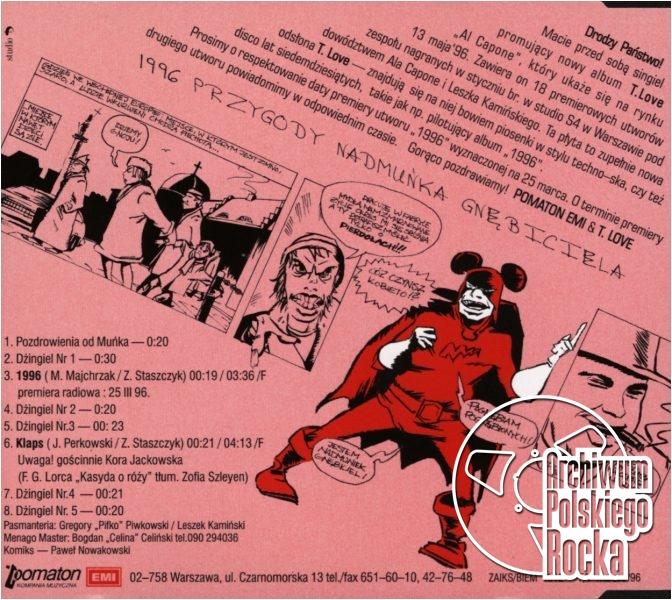T.Love - Al Capone - płyta promocyjna