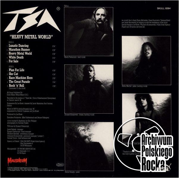 TSA - Heavy Metal World
