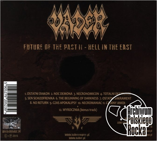 Vader - Future Of The Past II - Hell In The East