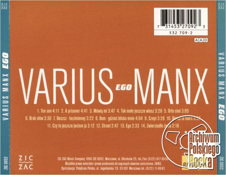 Varius Manx - Ego