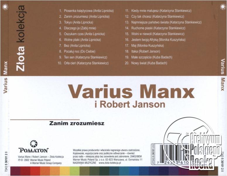 Varius Manx i Robert Janson - Zanim zrozumiesz